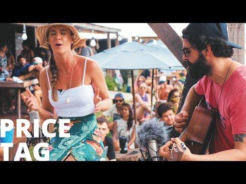 Price Tag - Jessie J Hana Pickler cover acústico Desentoca Nossa Toca