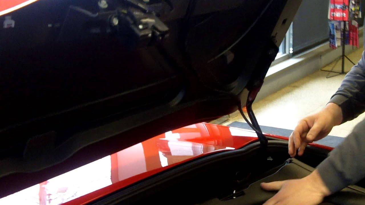 Corvette Manual Convertible Top Demo Youtube
