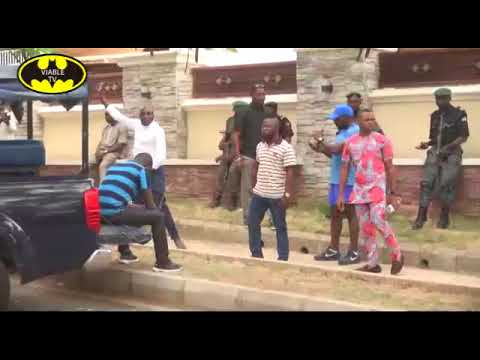 Drama : Police Lay Siege To Dino Melaye's Abuja Residence,