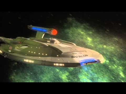 Enterprise NX-01 warp remake