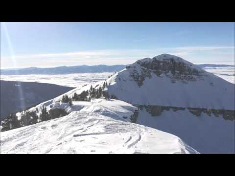 Grand Targhee, WY -Grand steep skiing, grand views