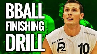 Great basketball drills for finishing - layup drill for guards