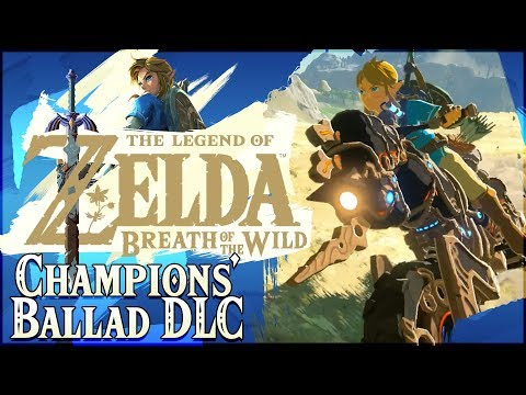 MASTER CYCLE ZERO | The Champions' Ballad DLC Pack 2 Gameplay! [Zelda Breath of the Wild]