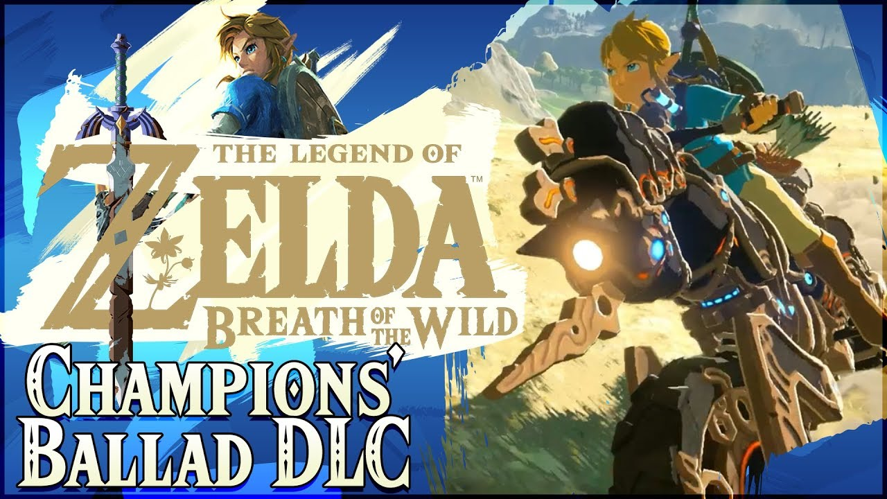 Zelda Breath Of The Wild Master Cycle: The Champions' Ballad DLC Pack 2