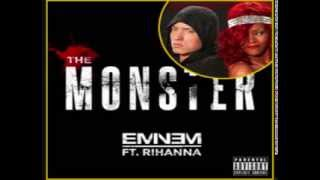 Eminem-the monster (aduio) ft rihanna + movie