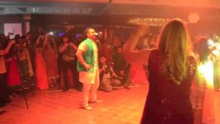 Virgin Radio Dubai Sangeet Dance for Priti & Jeff