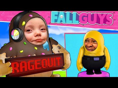 J'AI RAGEQUIT DE CE JEU !! - FALL GUYS