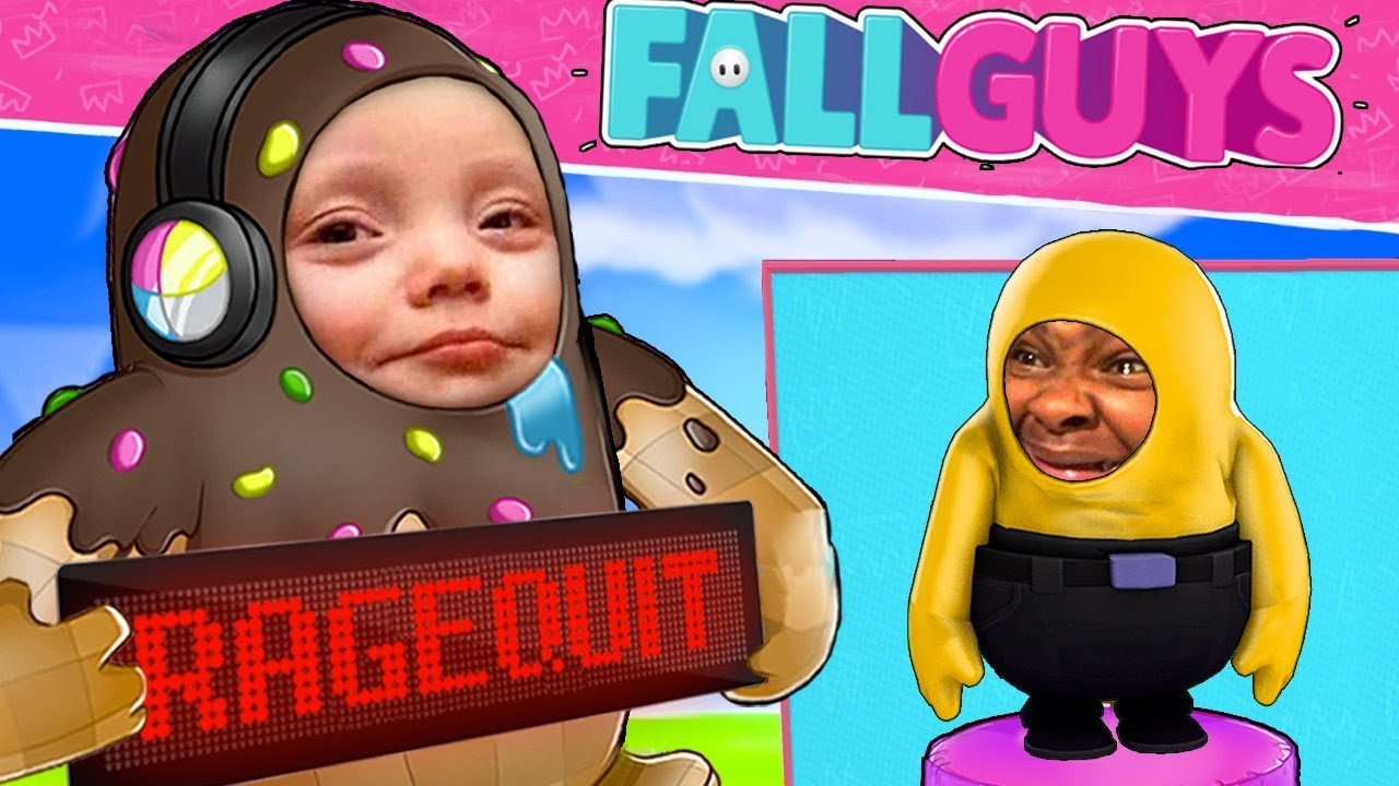 Download J'AI RAGEQUIT DE CE JEU !! - FALL GUYS