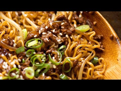 QUICK! Asian Beef And Noodles