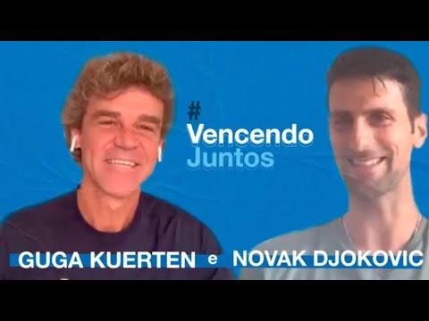 Além Das Quadras: Guga Kuerten E Novak Djokovic