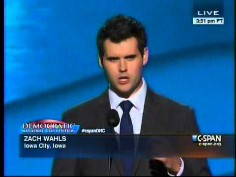 Zach Wahls Speaks at the 2012 Democratic National Convention