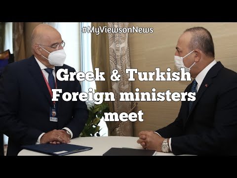Foreign Ministers of Greece & Turkey meet in Slovakia