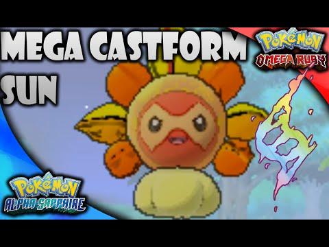 Mega Castform (Sun) in Pokémon Omega Ruby Alpha Sapphire - YouTube