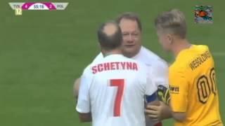 Ryszard Kalisz - Atak na bramkę [mecz TVN vs POLITYCY] 2013