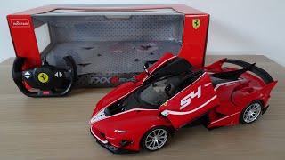 Rastar Ferrari FXX-K Evo 114 Scale RC Hypercar - Unboxing and Review