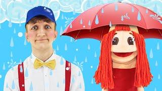 Rain Rain Go Away Song for Kids | Super Simple Nursery Rhymes. Sing Along With Tiki.