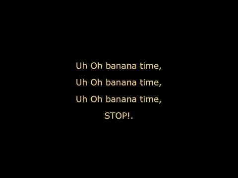 i'm a banana lyrics