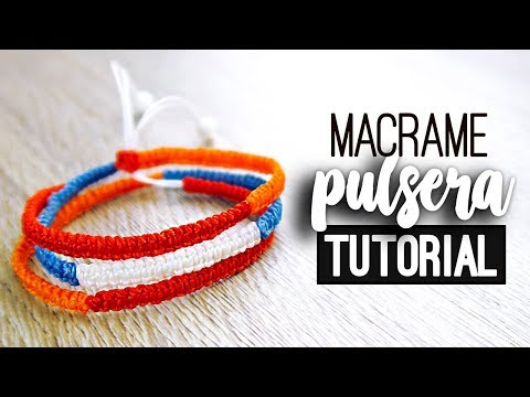 你的名字 Your Name 手繩/幸運編織手環 DIY Bracelet tutorial | Doovi