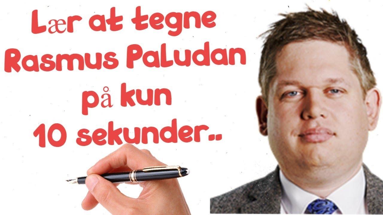 Lær At Tegne Rasmus Paludan på 10 sekunder -Meme