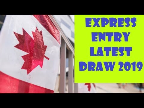 EXPRESS ENTRY LATEST DRAW 2019 | CRS SCORE DROPS