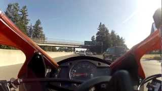 Highway 101 Windsor Santa Rosa California Honda CBR600RR GoPro Hero2