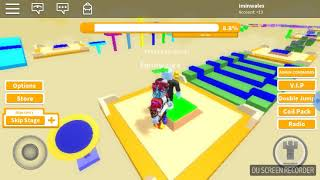 Easy fun obby (Roblox video part 2)