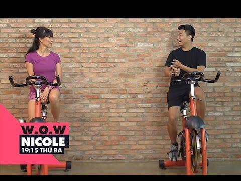 Bài tập giảm cân đốt mỡ cấp tốc cho nam giới | W.O.W Nicole | VIEW TV-VTC8