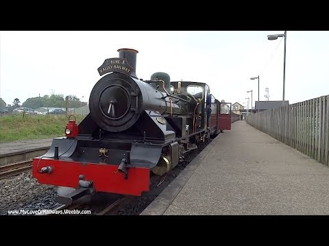 The Bure Valley Narrow Gauge Railway, Norfolk, U.K.