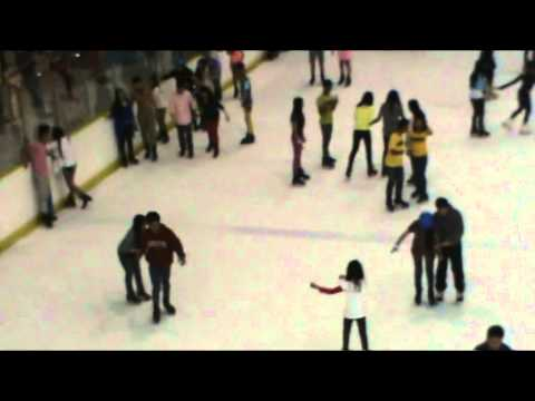 ORIGINAL Proposal Wedding Ice Skating MOA Feb.14,2015