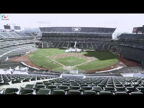 Oakland-Alameda County Coliseum Time Lapse