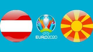 Футбол Евро 2020 Марко Арнаутович забил гол Австрия Македония Чемпионат Европы по футболу 2020