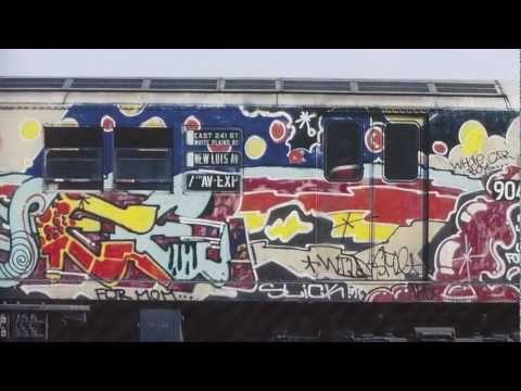 Lee Quinones, Fab 5, New York Subway Graffiti from the 70's