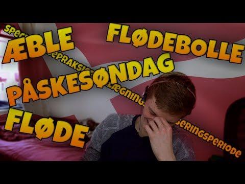 DANISH LANGUAGE CHALLENGE - (English people try to speak danish) (englænder taler dansk)