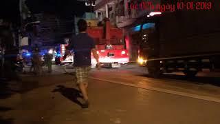 Clip hot: Cháy tại 50/3 Lương Thế Vinh p Tân Thới Hoà q Tân Phú