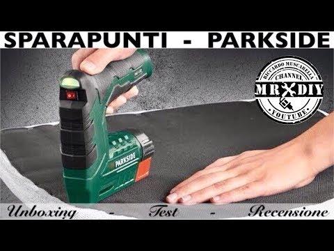 Sparapunti parkside pat 4 b2 lidl sparachiodi spara for Pistola sparapunti parkside