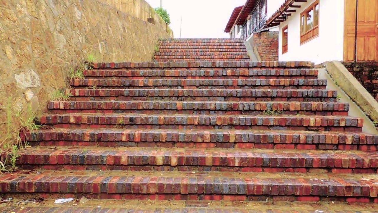 838 escaleras efecto paisajes rurales youtube - Ladrillos decorativos para exteriores ...
