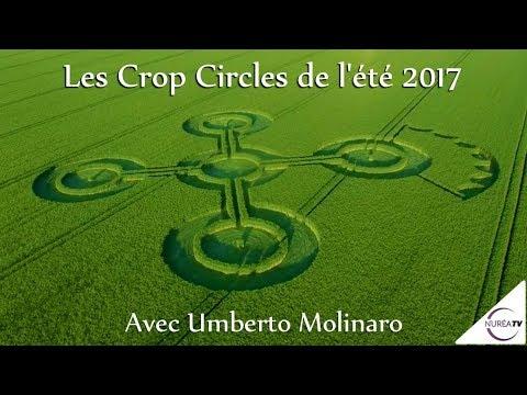 Les Crop Circles de l'été 2017 » avec Umberto Molinaro - NURÉA TV