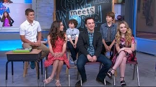 Cast of 'Girl Meets World' Takes Over Times Square | Good Morning America | ABC News