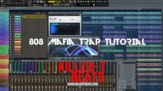 how to make a 808 mafia type beat   killer t beats