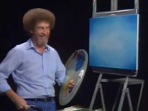 bob ross the joy of painting beat the devil out of it youtube