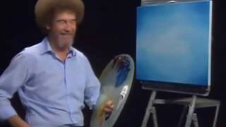 Bob Ross - The Joy of Painting - Beat the devil out of it!