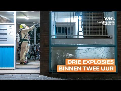 Drie explosies in een nacht in Rotterdam: 'De schrik zit er behoorlijk in'