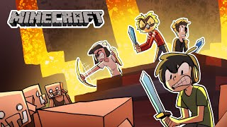 The new Nether update in Minecraft but it all goes horribly wrong...