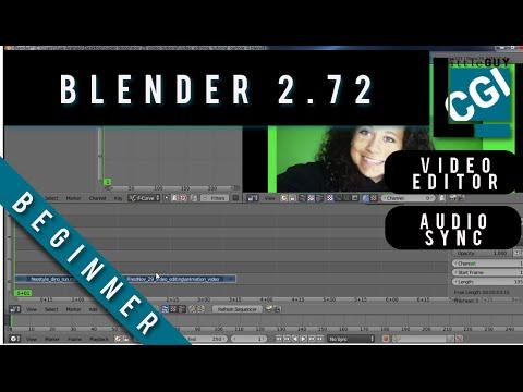 How to Edit Video in Blender 2.72b