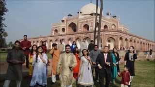 "Dancing To ""koi Suru Fortune Cookie"" At Humayun's Tomb, Delhi, India"