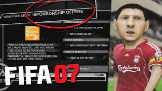 PLAYING FIFA 07 CAREER MODE!