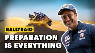 Preparation is The Key To Going Fast | How to Rally w/ Nasser Al-Attiyah #2