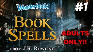 Wonderbook: Book of Spells - Part 1 - Chapter 1 Walkthrough - Let