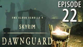Skyrim: Dawnguard Walkthrough in 1080p, Part 22: Enchanted Bolts in Dead Drop Falls (in 1080p HD)