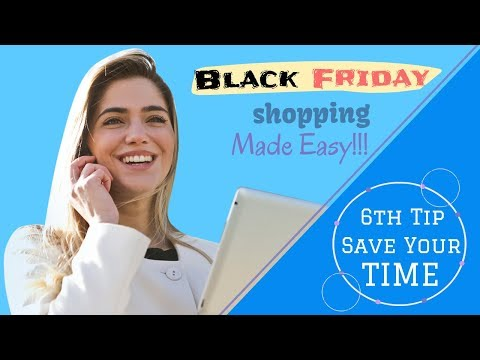 8 Tips To Buy Products At Cheap In Black Friday (6th Tip Will Save Your Time)